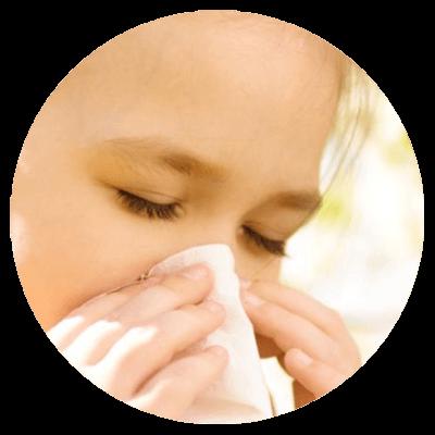 Alergiczny nieżyt nosa u dziecka.